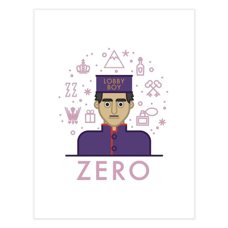 Zero Home Fine Art Print by wharton's Artist Shop