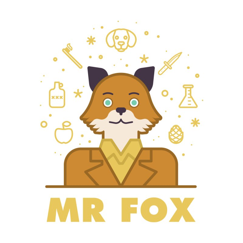 Fantastic Mr Fox by wharton's Artist Shop