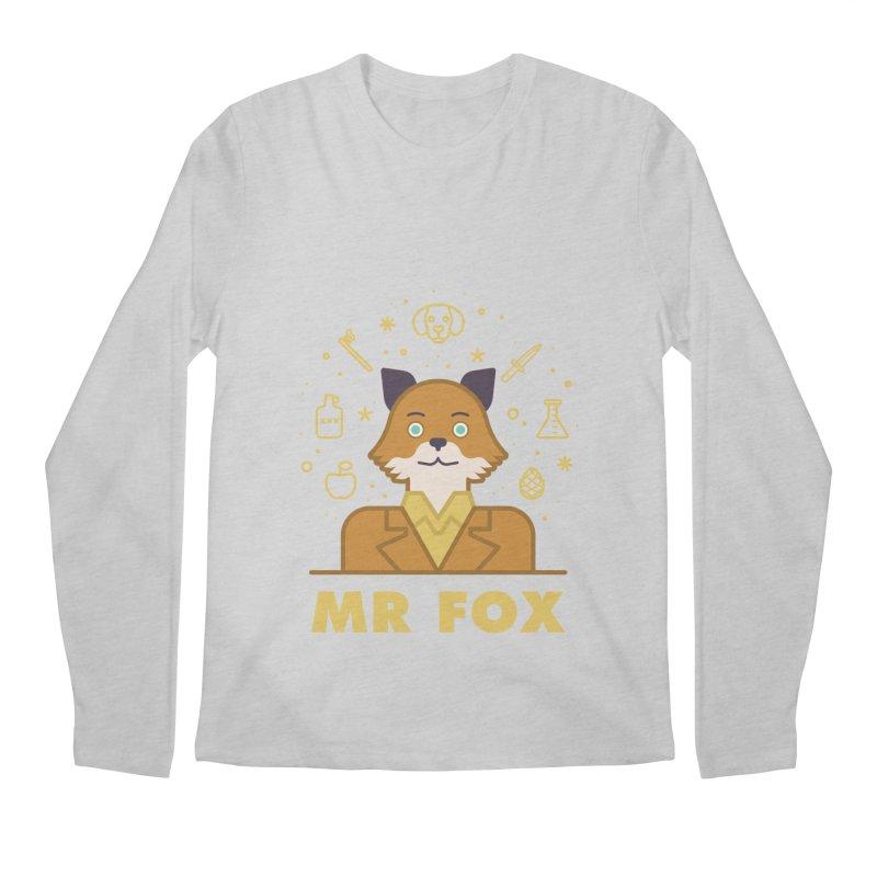Fantastic Mr Fox Men's Longsleeve T-Shirt by wharton's Artist Shop