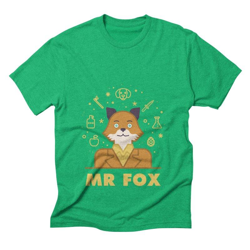 Fantastic Mr Fox Men's Triblend T-Shirt by wharton's Artist Shop