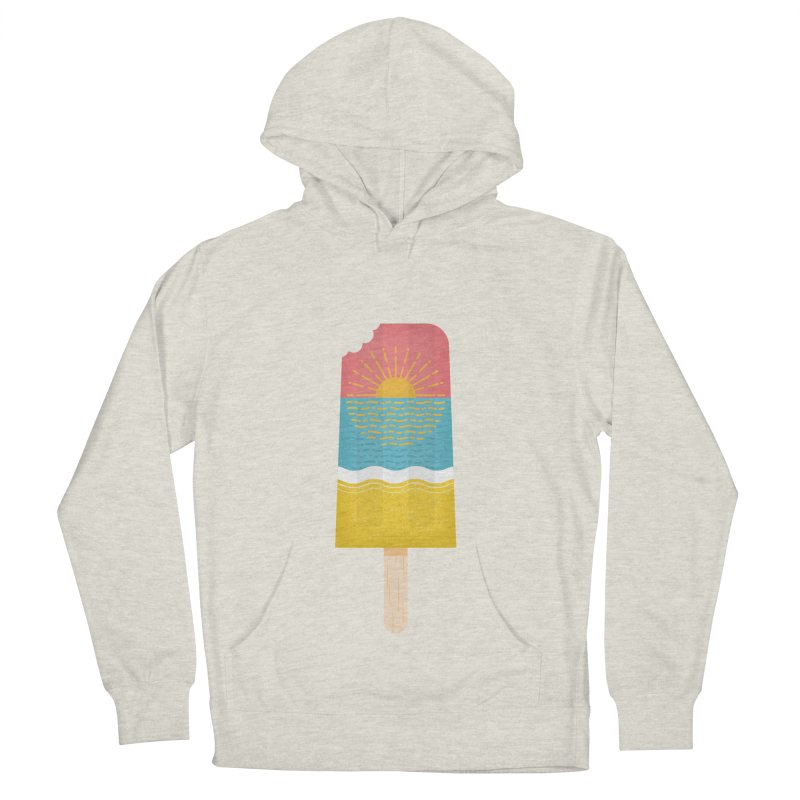 Popsicle Sunset Women's French Terry Pullover Hoody by wharton's Artist Shop