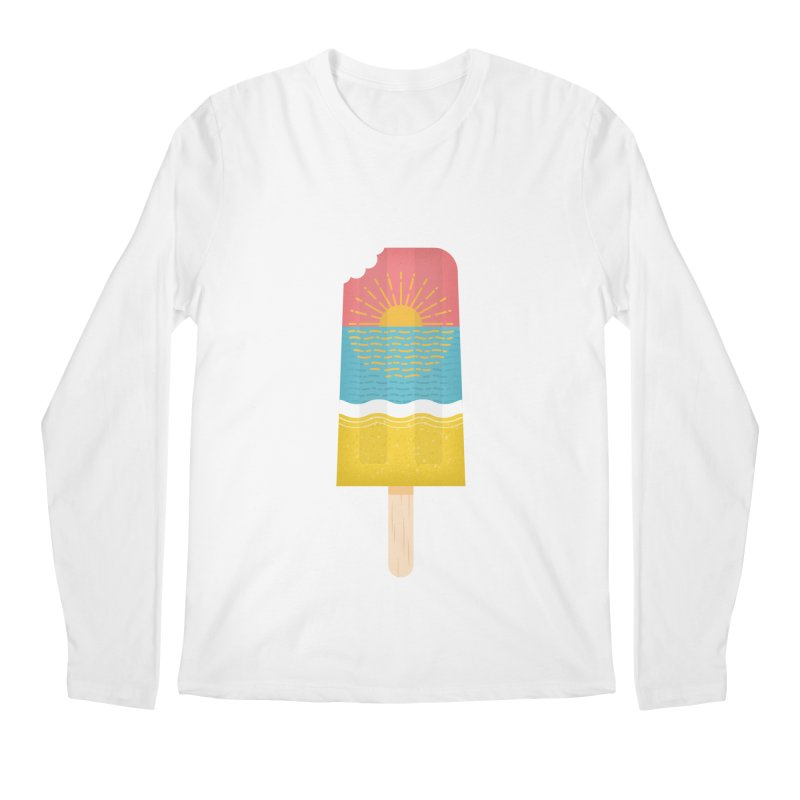 Popsicle Sunset Men's Regular Longsleeve T-Shirt by wharton's Artist Shop