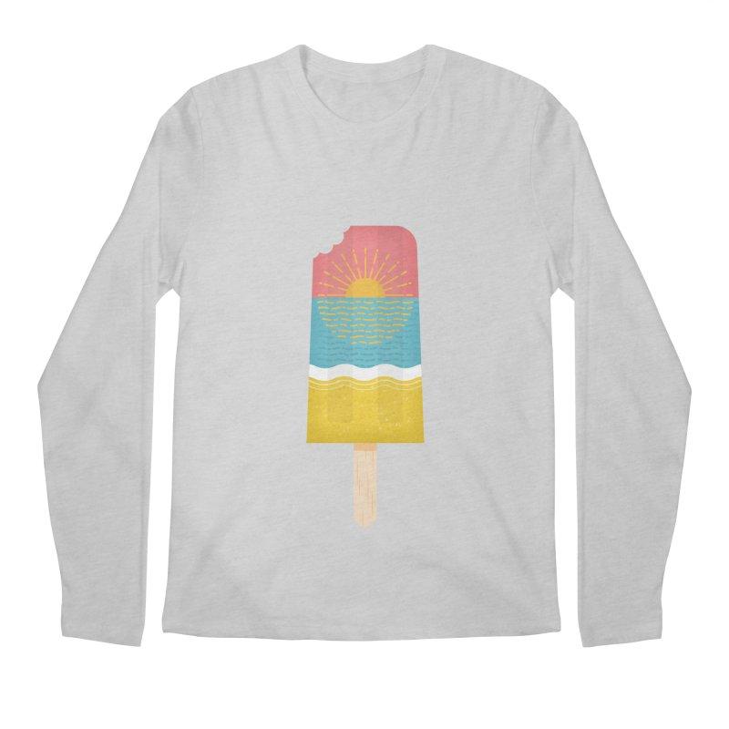 Popsicle Sunset Men's Longsleeve T-Shirt by wharton's Artist Shop