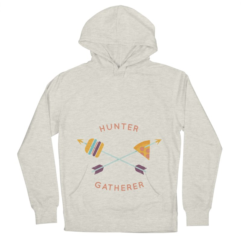 Hunter Gatherer Women's French Terry Pullover Hoody by wharton's Artist Shop