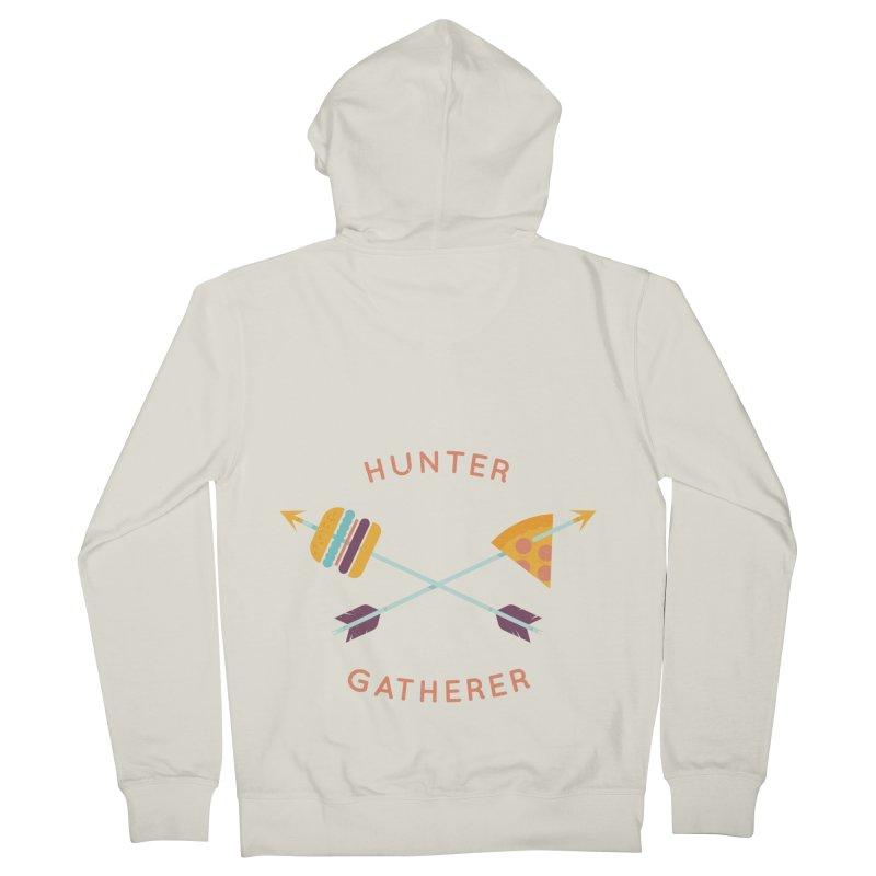 Hunter Gatherer Men's Zip-Up Hoody by wharton's Artist Shop
