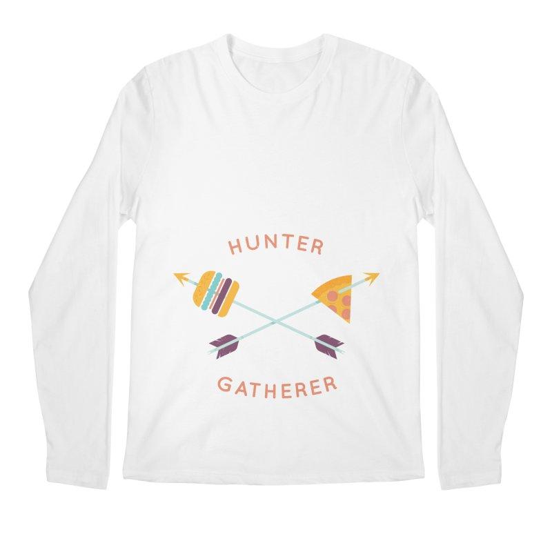 Hunter Gatherer Men's Longsleeve T-Shirt by wharton's Artist Shop