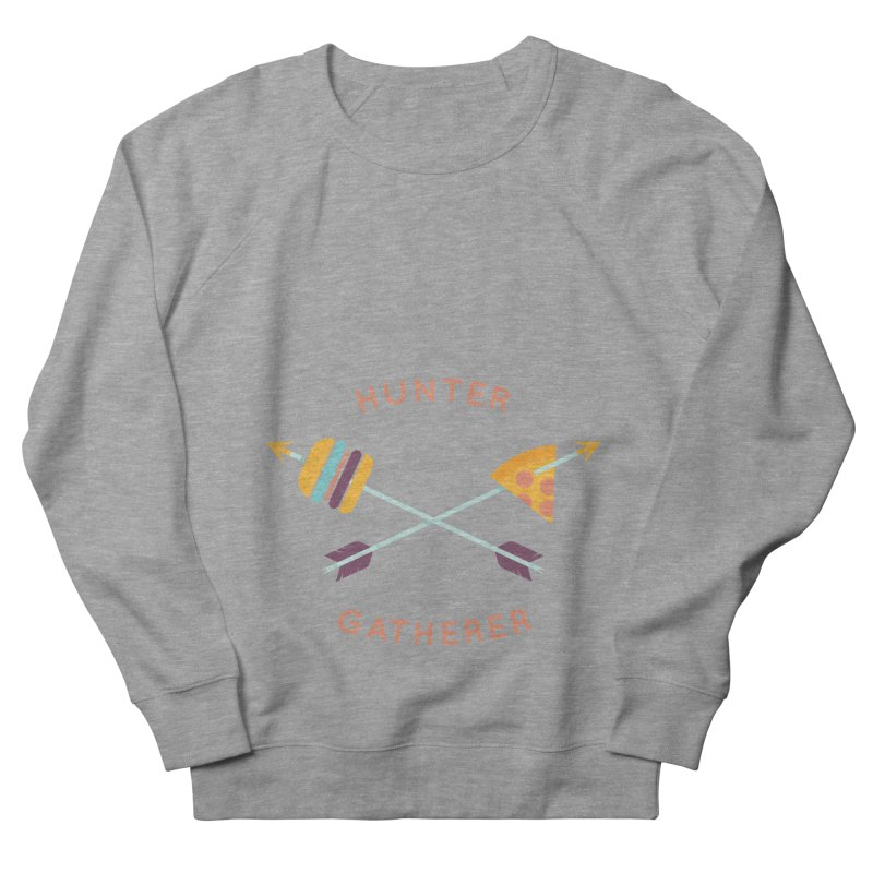 Hunter Gatherer Men's Sweatshirt by wharton's Artist Shop