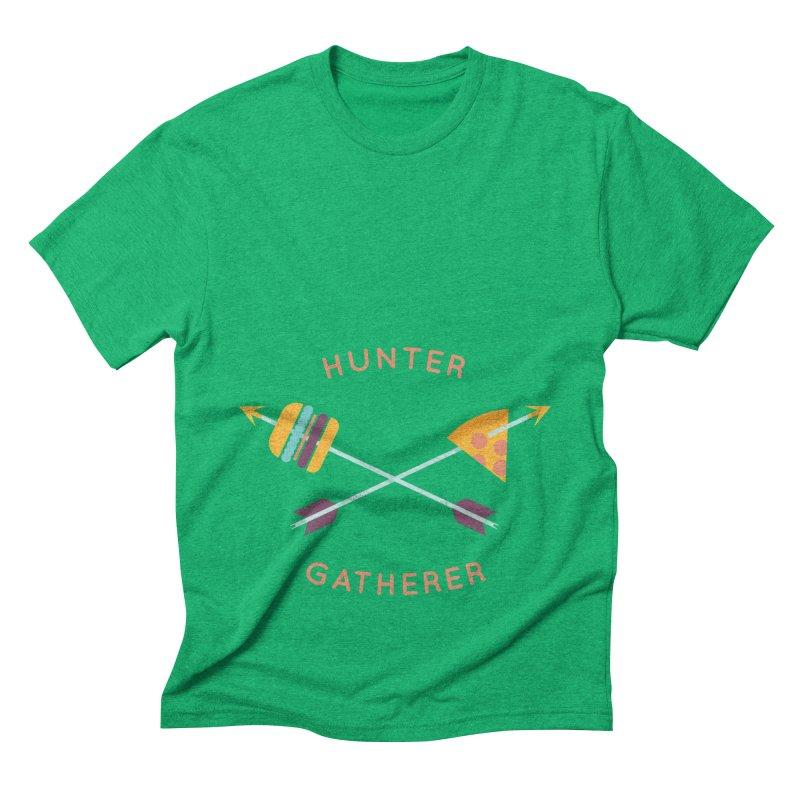 Hunter Gatherer Men's Triblend T-Shirt by wharton's Artist Shop