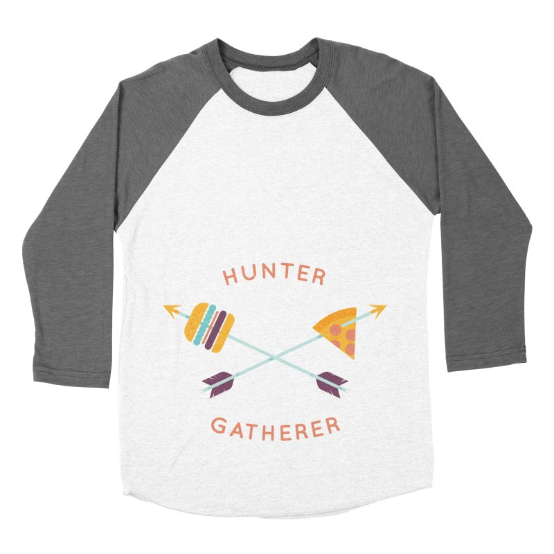Hunter Gatherer Men's Baseball Triblend Longsleeve T-Shirt by wharton's Artist Shop