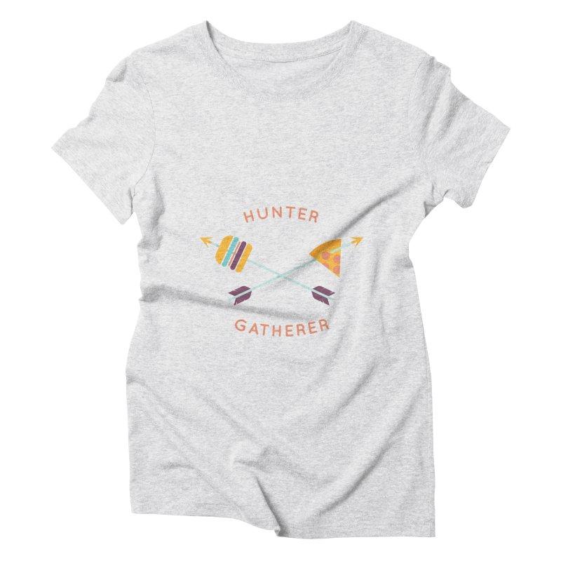 Hunter Gatherer Women's Triblend T-Shirt by wharton's Artist Shop