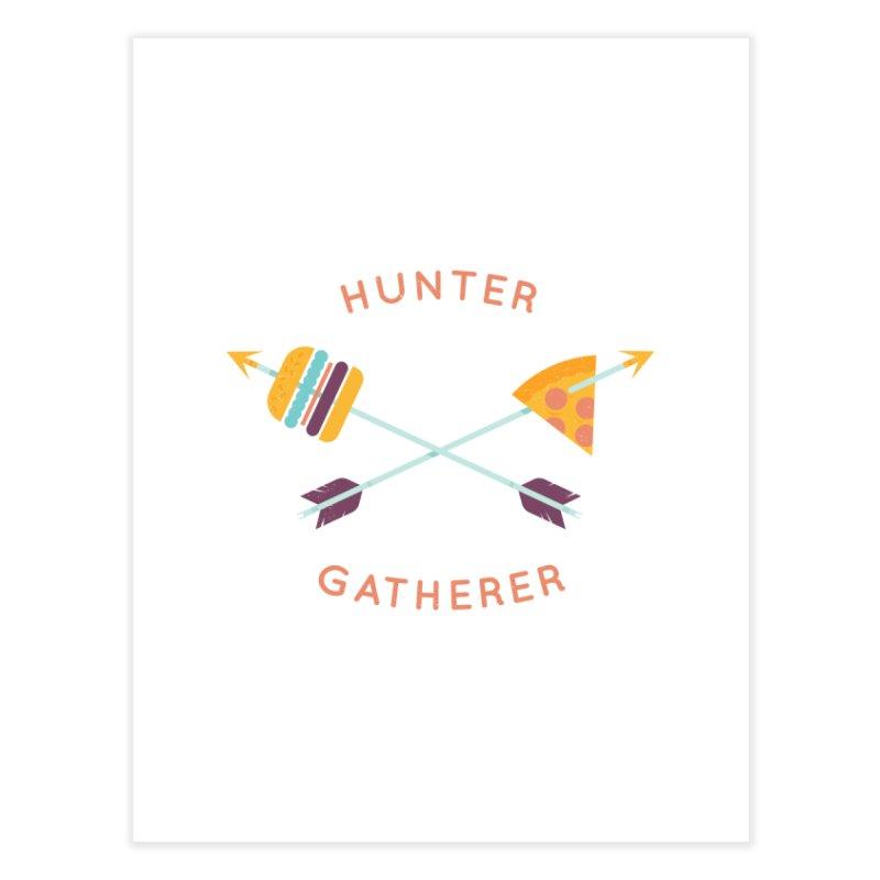 Hunter Gatherer Home Fine Art Print by wharton's Artist Shop
