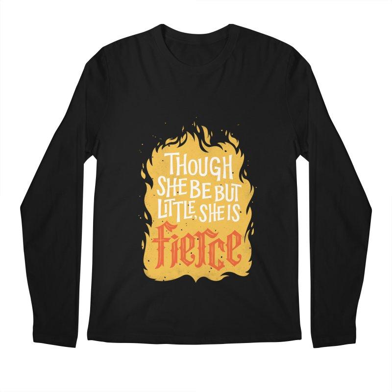 Fierce Men's Longsleeve T-Shirt by wharton's Artist Shop