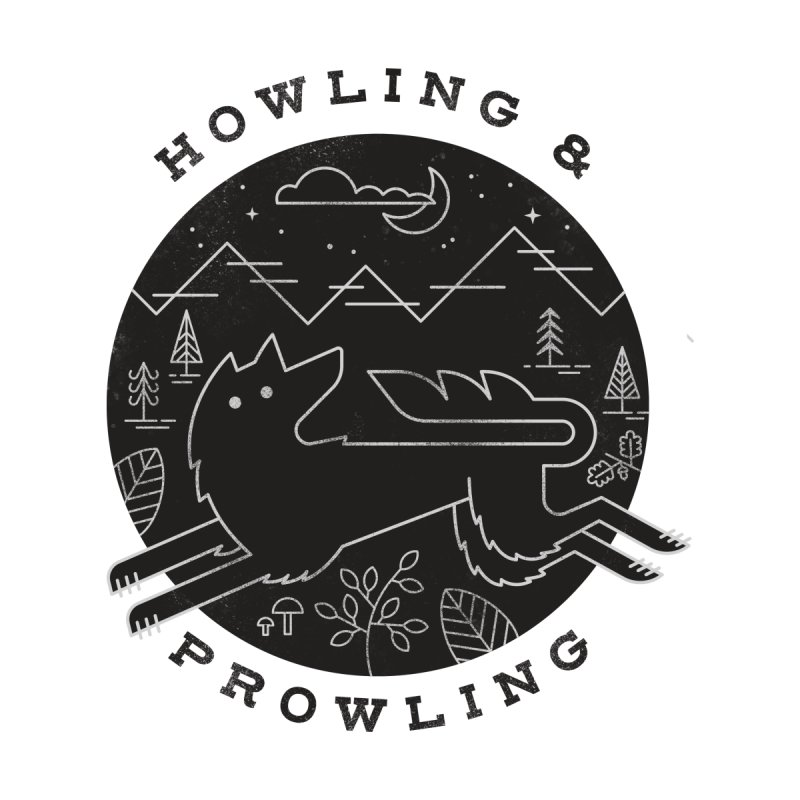 Howling & Prowling by wharton's Artist Shop