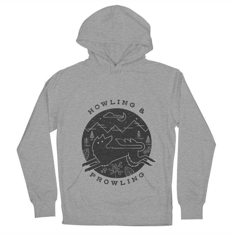 Howling & Prowling Men's Pullover Hoody by wharton's Artist Shop