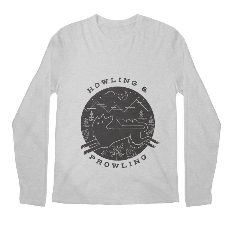 Howling & Prowling Men's Longsleeve T-Shirt by wharton's Artist Shop