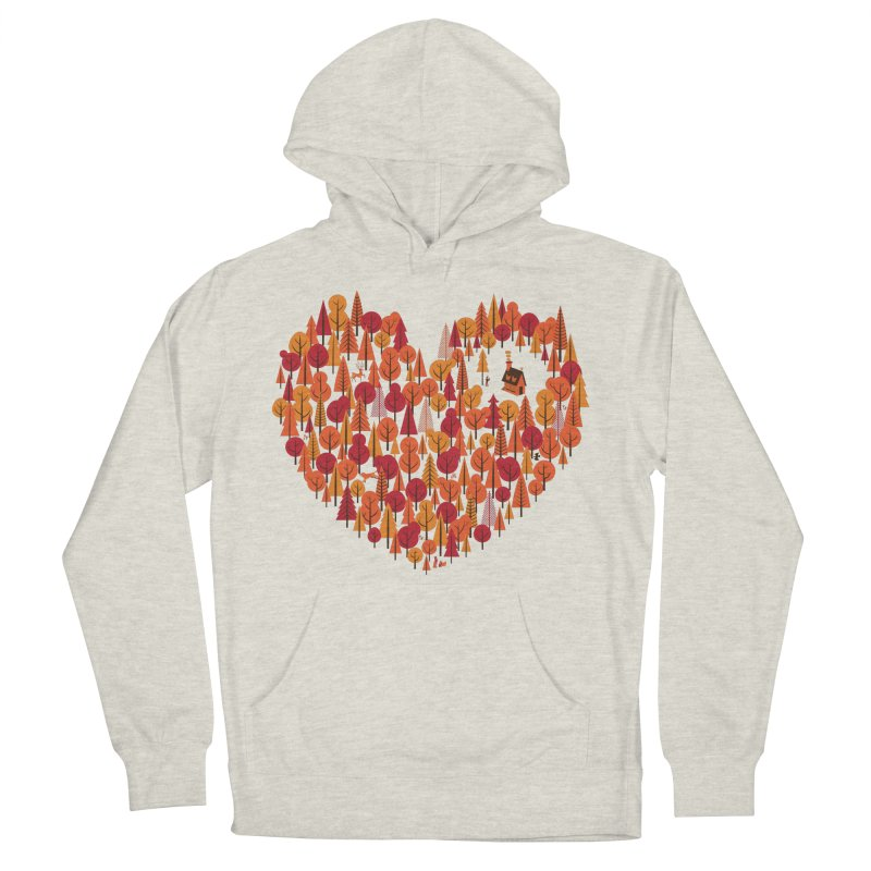 Wild at Heart Men's Pullover Hoody by wharton's Artist Shop