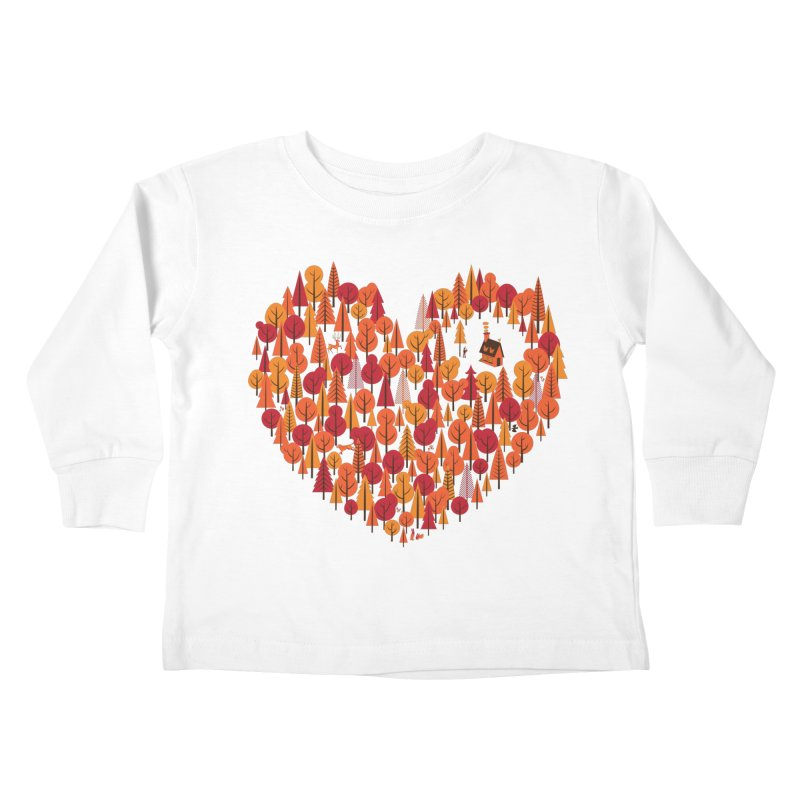 Wild at Heart Kids Toddler Longsleeve T-Shirt by wharton's Artist Shop