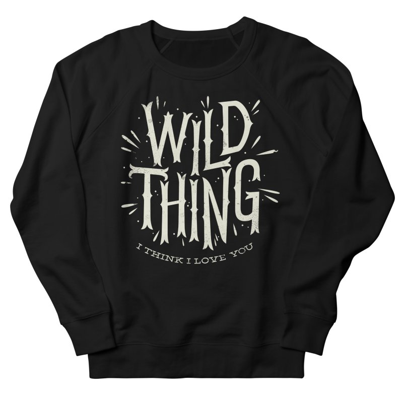 Wild Thing Men's Sweatshirt by wharton's Artist Shop