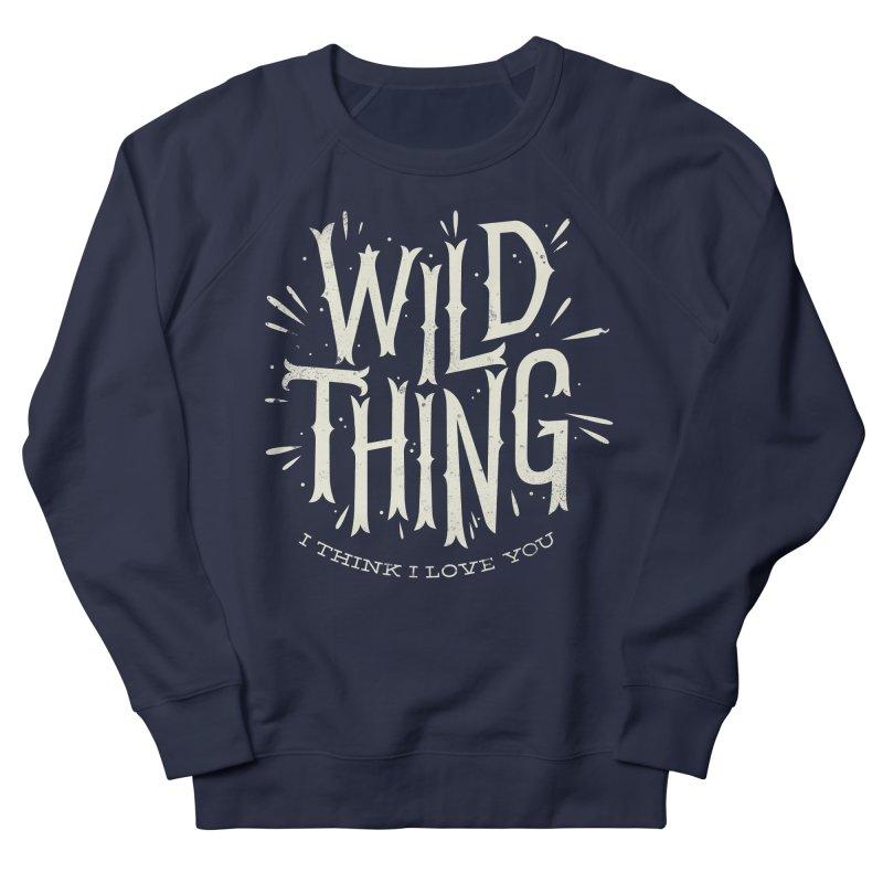 Wild Thing Men's Sweatshirt by wharton's Artist Shop
