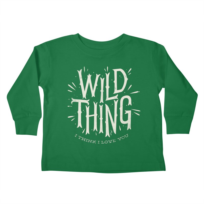 Wild Thing Kids Toddler Longsleeve T-Shirt by wharton's Artist Shop