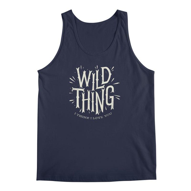 Wild Thing Men's Tank by wharton's Artist Shop