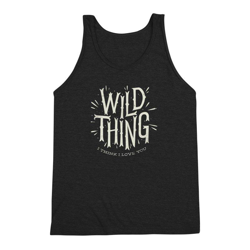 Wild Thing Men's Triblend Tank by wharton's Artist Shop
