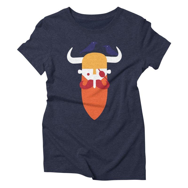 Odin's Beard Women's Triblend T-shirt by wharton's Artist Shop