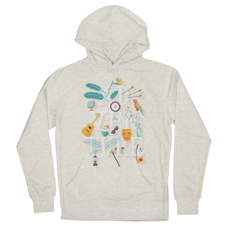 Adventure Men's Pullover Hoody by wharton's Artist Shop