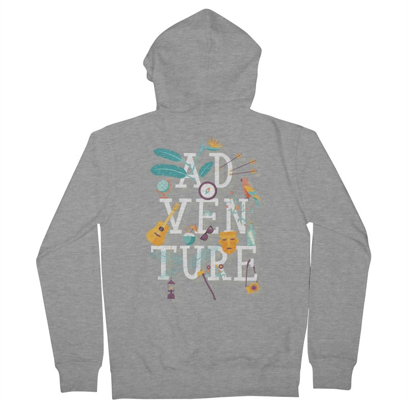Adventure Women's Zip-Up Hoody by wharton's Artist Shop