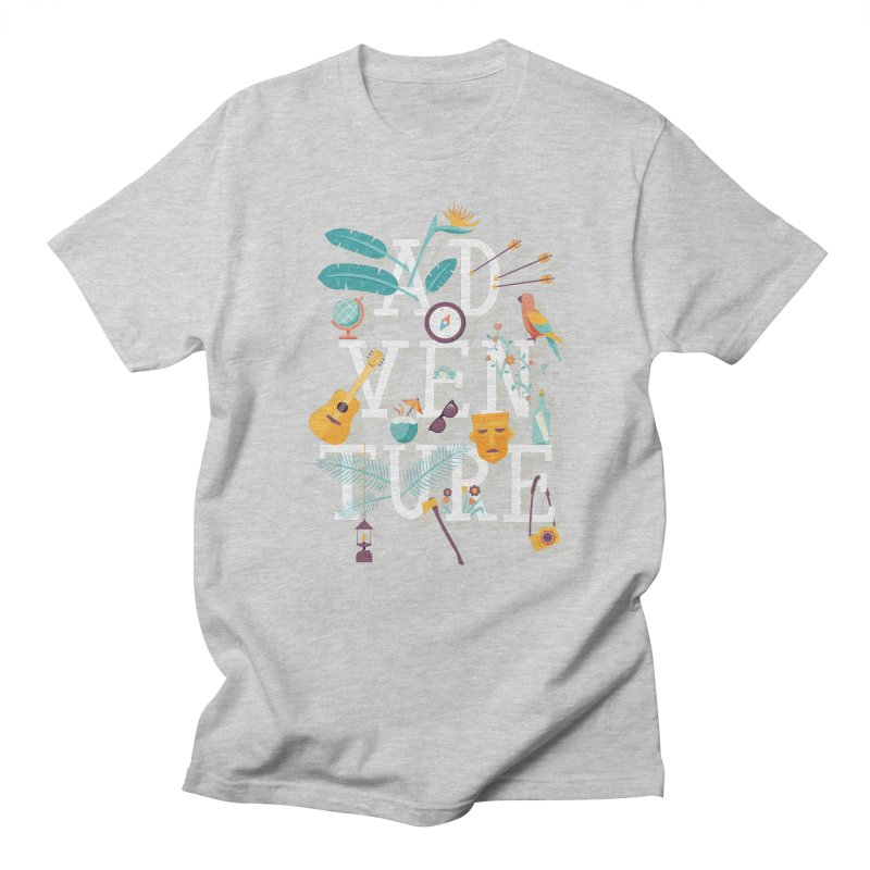 Adventure Men's T-Shirt by wharton's Artist Shop