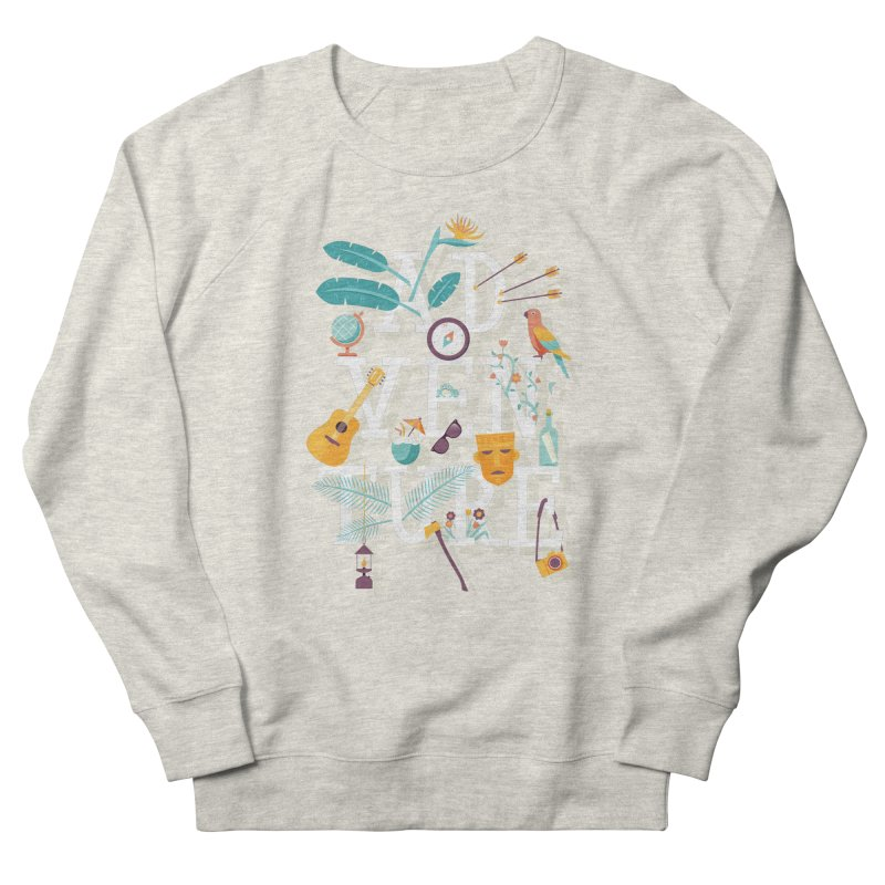 Adventure Men's Sweatshirt by wharton's Artist Shop