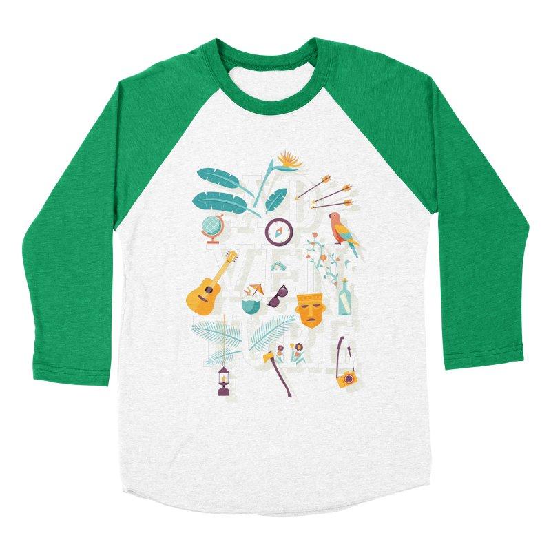 Adventure Women's Baseball Triblend T-Shirt by wharton's Artist Shop