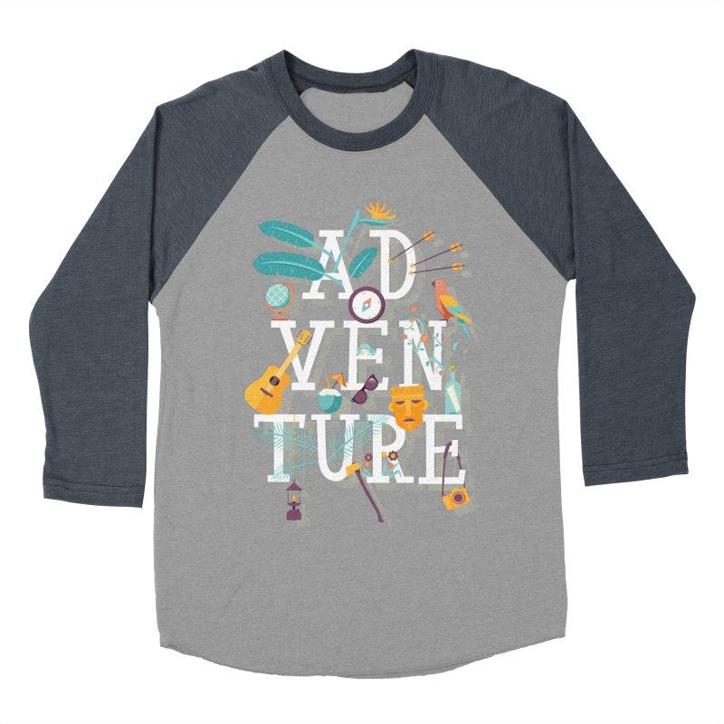 Adventure Men's Baseball Triblend T-Shirt by wharton's Artist Shop