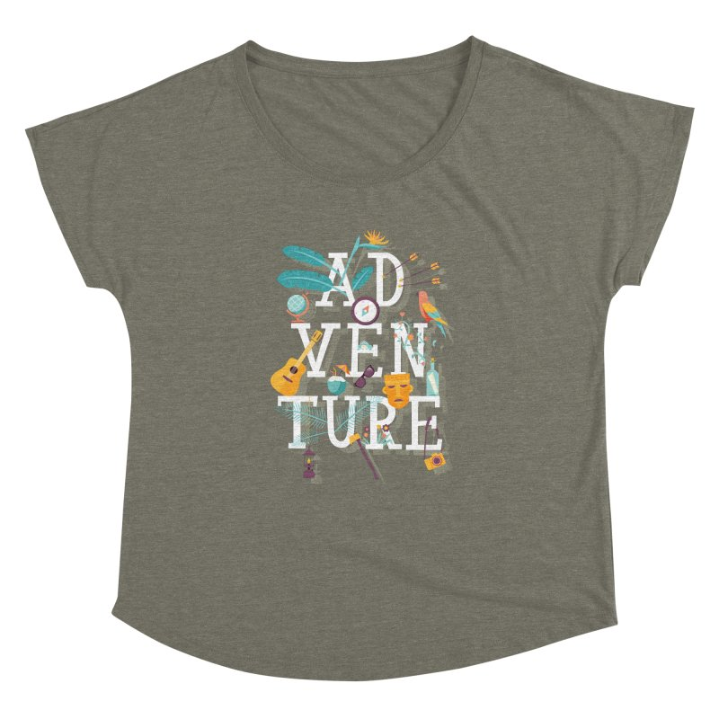 Adventure Women's Dolman by wharton's Artist Shop