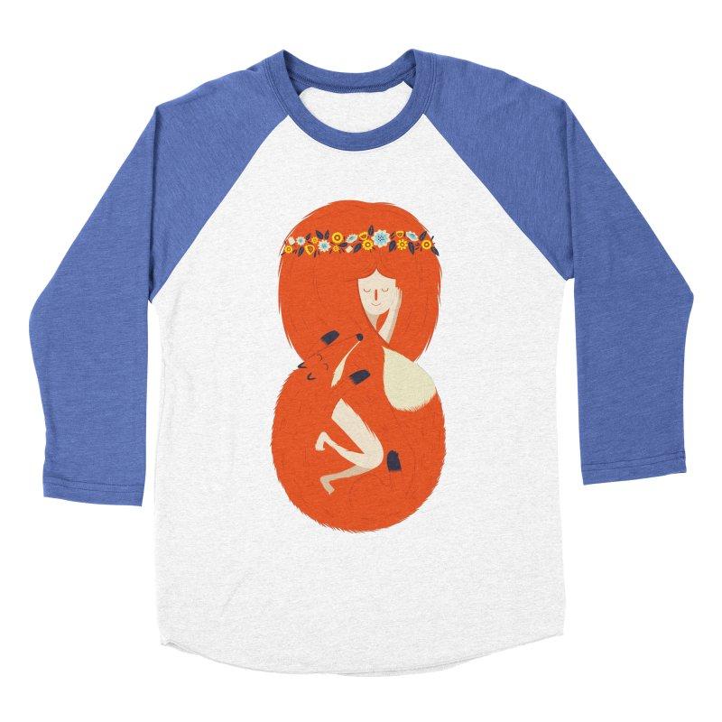 Foxy Lady Women's Baseball Triblend T-Shirt by wharton's Artist Shop