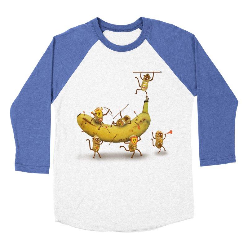 Nuts Women's Baseball Triblend T-Shirt by wharton's Artist Shop