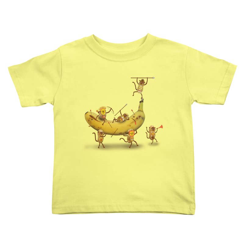 Nuts Kids Toddler T-Shirt by wharton's Artist Shop
