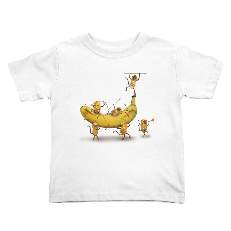 Nuts Kids Toddler T-Shirt by wharton's Artist Shop