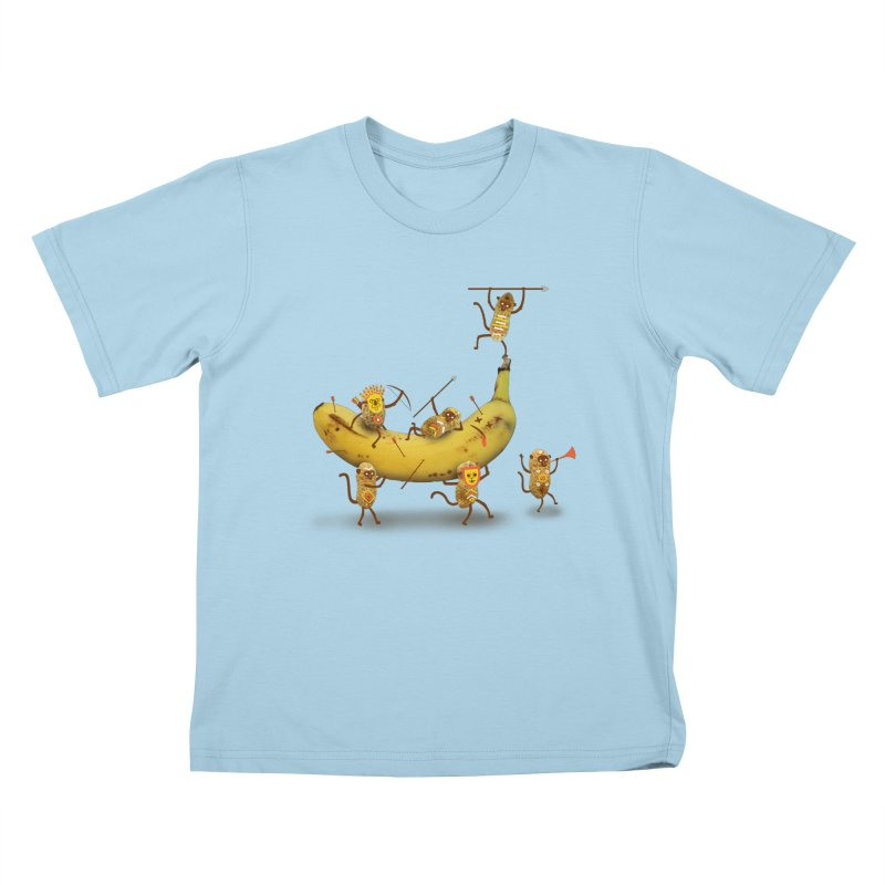 Nuts Kids T-Shirt by wharton's Artist Shop