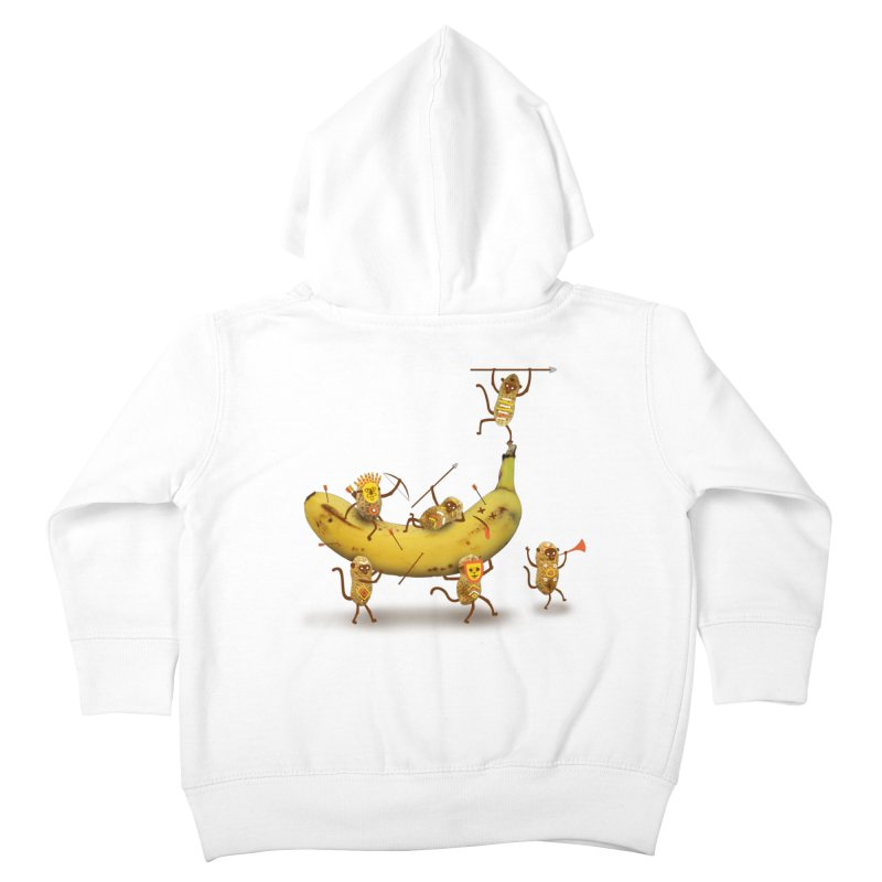 Nuts Kids Toddler Zip-Up Hoody by wharton's Artist Shop