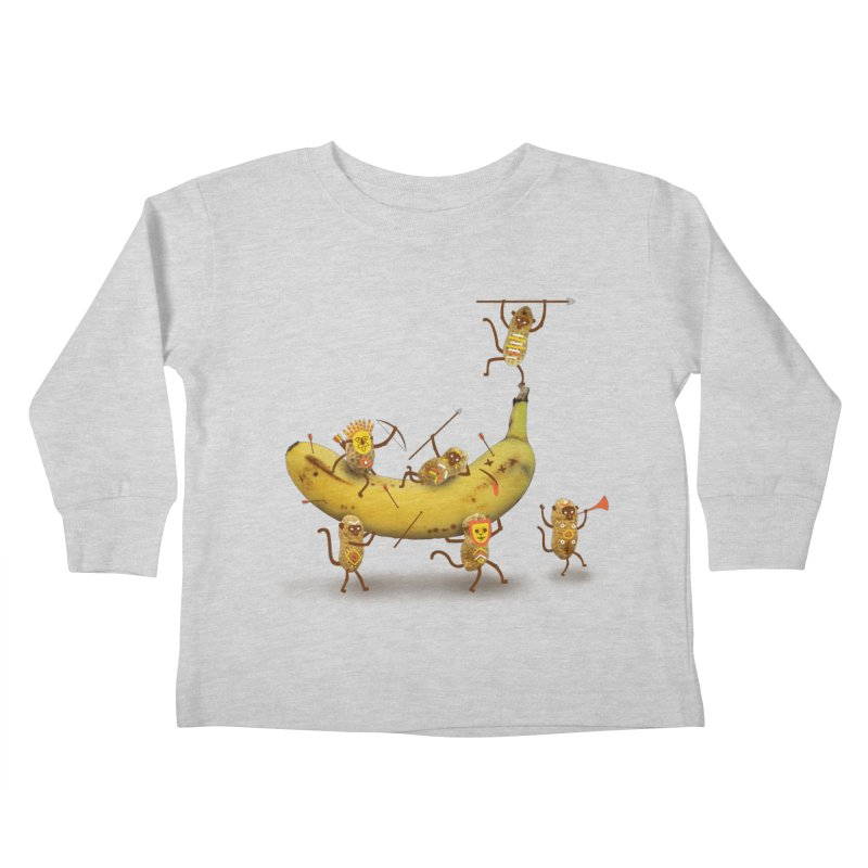 Nuts Kids Toddler Longsleeve T-Shirt by wharton's Artist Shop