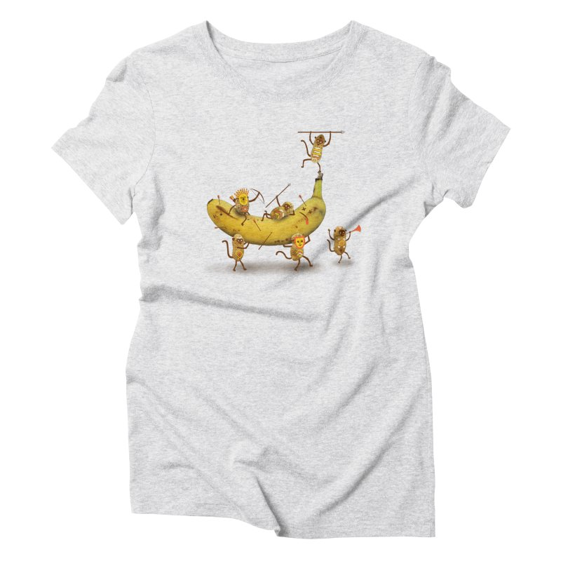 Nuts Women's Triblend T-Shirt by wharton's Artist Shop
