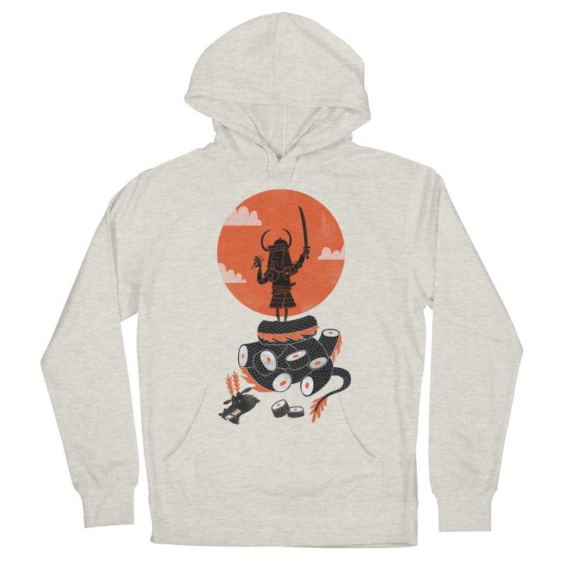 Samurai Sushi Men's Pullover Hoody by wharton's Artist Shop