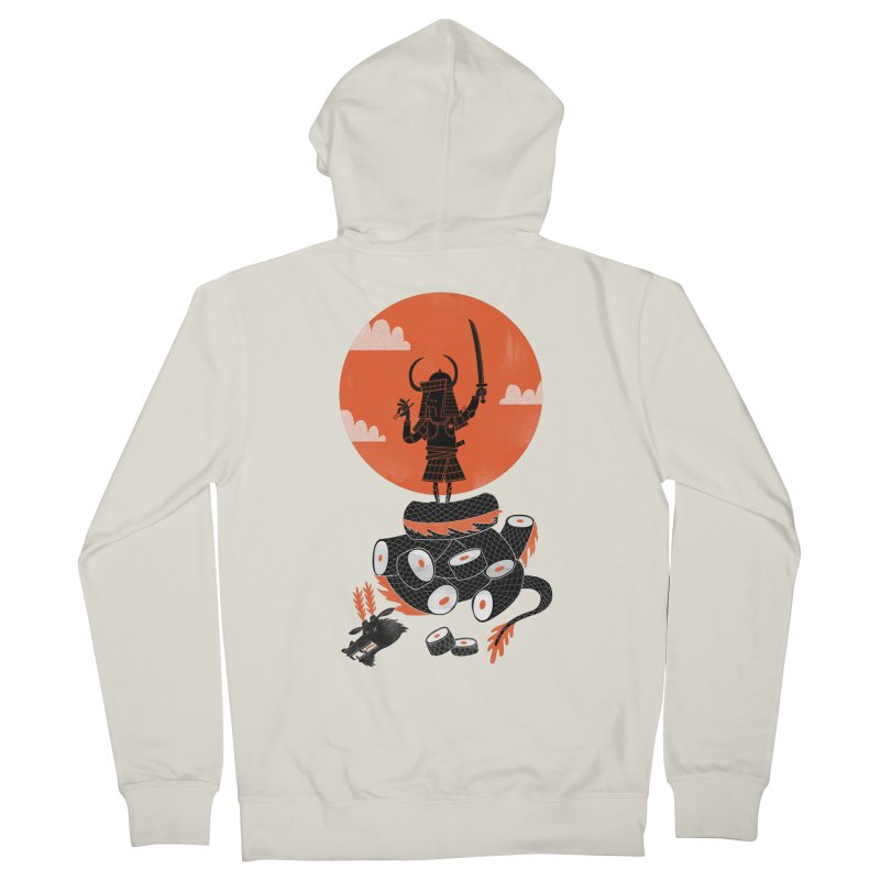 Samurai Sushi Women's Zip-Up Hoody by wharton's Artist Shop