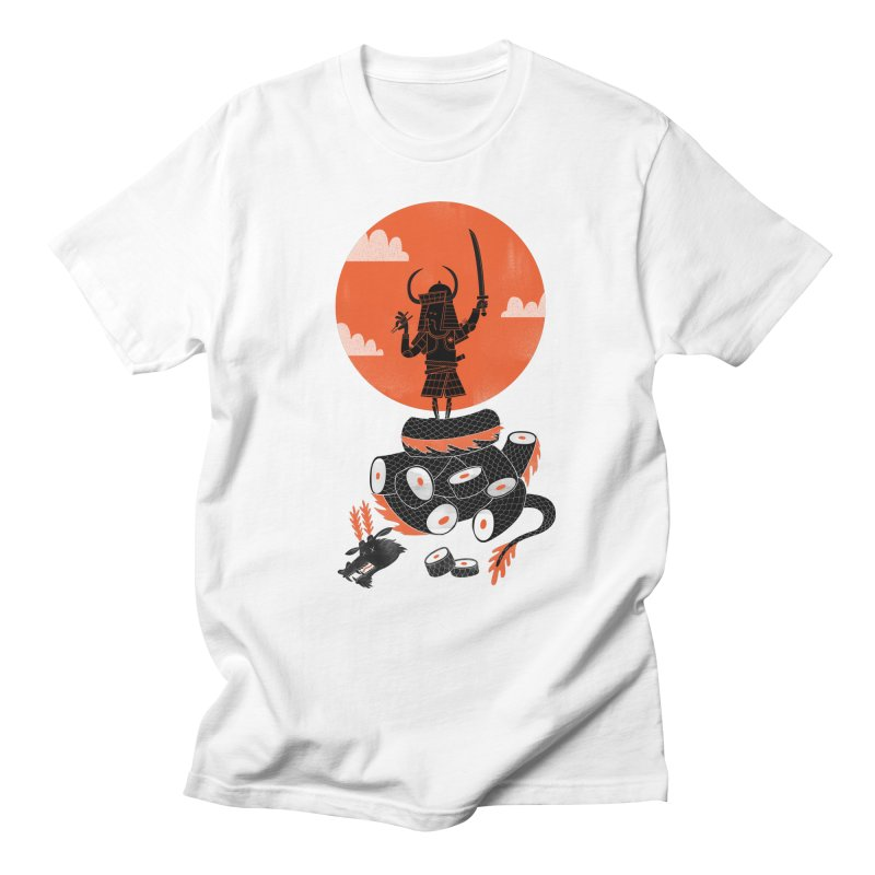 Samurai Sushi Men's T-shirt by wharton's Artist Shop