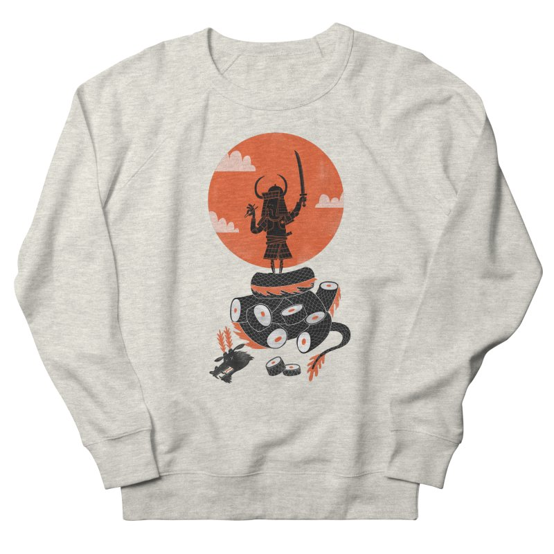 Samurai Sushi Men's Sweatshirt by wharton's Artist Shop