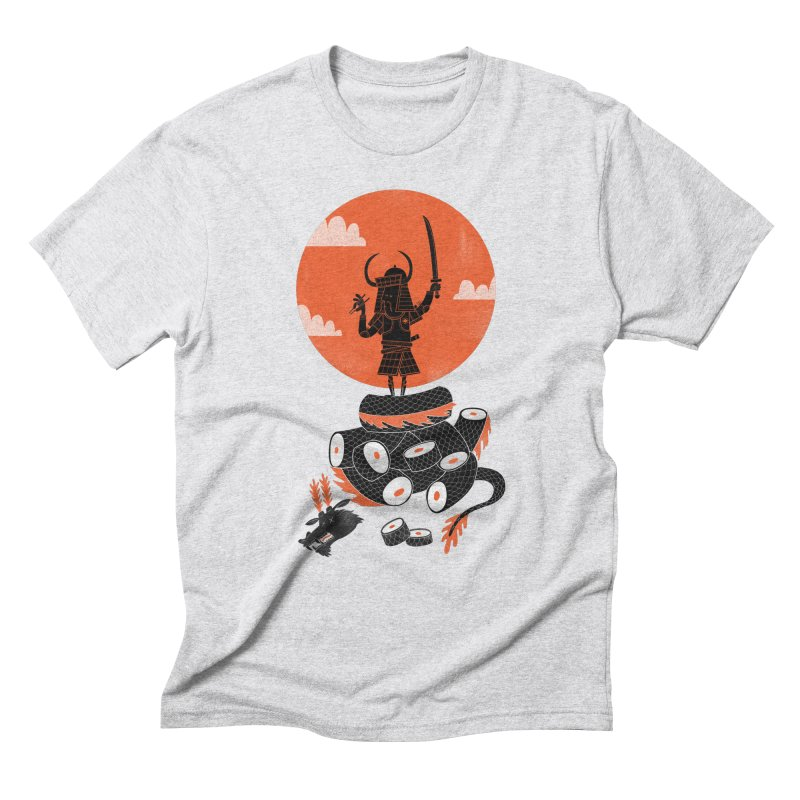 Samurai Sushi Men's Triblend T-Shirt by wharton's Artist Shop