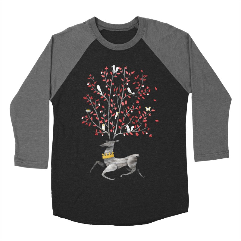 King of the Forest Men's Baseball Triblend T-Shirt by wharton's Artist Shop