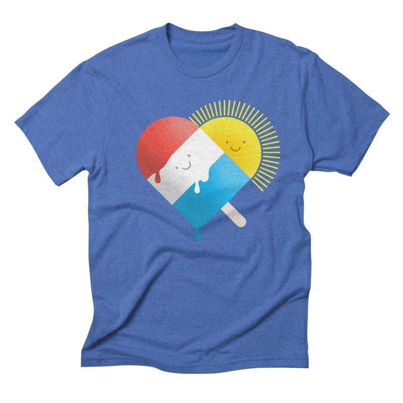 Summer Love Men's Triblend T-shirt by wharton's Artist Shop