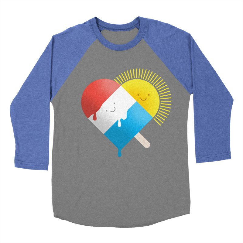 Summer Love Women's Baseball Triblend T-Shirt by wharton's Artist Shop